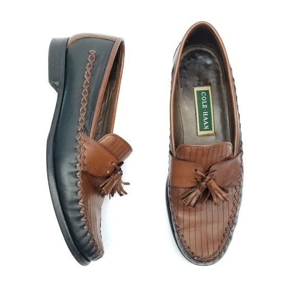 4377345ab16 Cole Haan Shoes - Vintage Cole Haan Leather Tassel Loafers